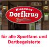 Der Rissener Dorfkrug in Hamburg ist für alle Sportfans und Dartbegeisterte die richtige Kneipe. Bei uns könnt Ihr euch bei frisch gezapftem Bier von Köpi, Jever, Flensburger und Benediktiner Weißbier sowie einer großen Auswahl an Weinen und Highball-Cock